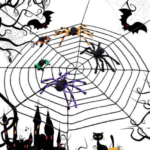Spinnennetz Halloween Deko Party Spinnweben Horror Spinnengewebe