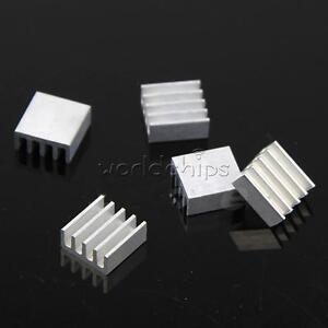 10PCS High Quality 11x11x5mm Aluminum Heat Sink For Memory Chip IC