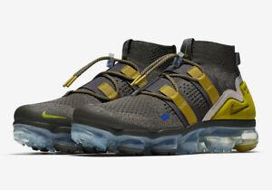 40fe7b4fbb Nike MEN'S Air Vapormax Flyknit Utility Ridgerock/Peat Moss/String ...