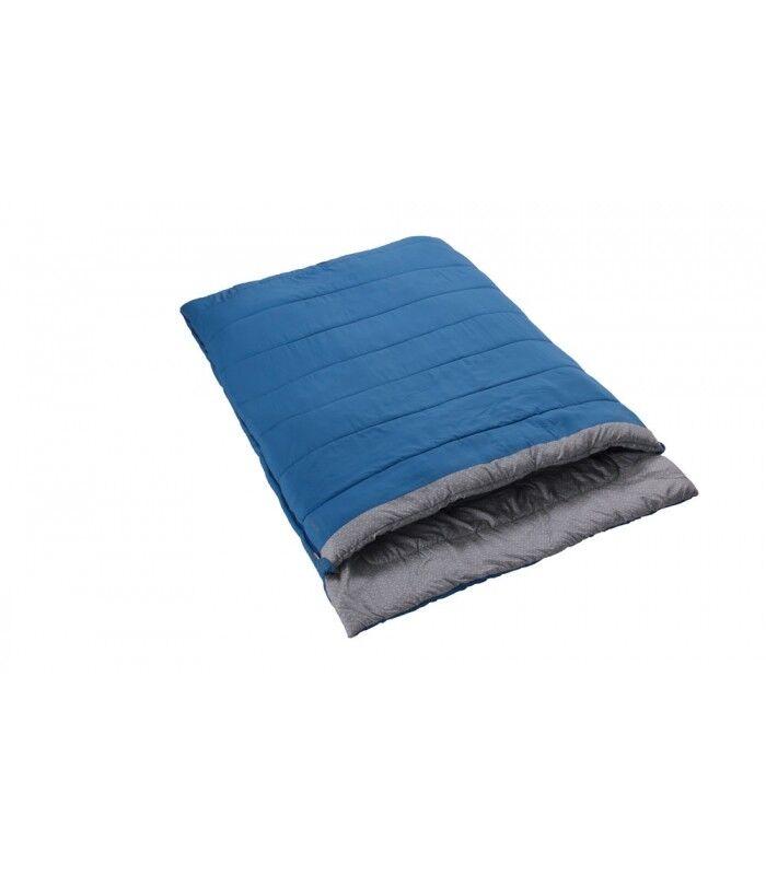 Vango Harmony Deluxe Double Sky bluee Comfy Warm Sleeping Bag