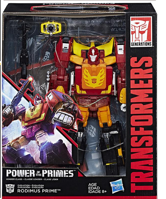 TRANSFORMERS GENERATIONS POWER OF THE PRIMES LEADER EVOLUTION RODIMUS FIGURE