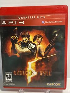 RESIDENT EVIL 5 (PlayStation 3, 2009) PS3! Free Shipping