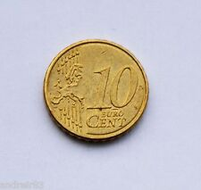 10 cent Euro coin France French Republic Republique Francaise RF 2008 MC214
