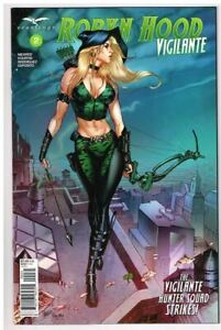 Vault 35 Robyn Hood Outlaw #1 Cover C NM 2019 Zenescope