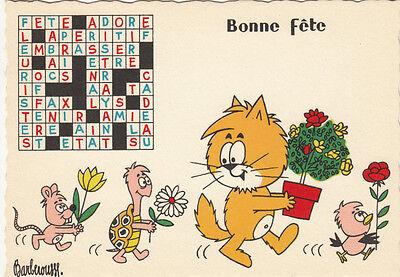 Carte Postale Humoristique Humour Barberousse Bonne Fête Ebay