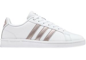 ADIDAS CF ADVANTAGE scarpe stan donna smith superstar sportive sneakers pelle