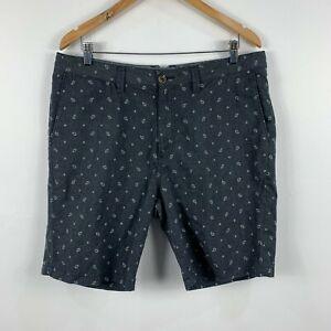 Vans-Mens-Shorts-Size-36-Grey-Bermuda-With-Pockets