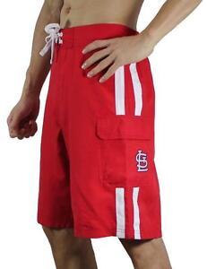 size 40 dc63d 291a2 Details about MLB LICENSED ST LOUIS CARDINALS SHORTS (SIZES L, XL)