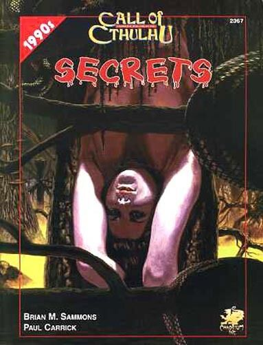 CALL OF OF OF CTHULHU 1990s SECRETS 2367 VF  Chaosium Inc. H.P. Lovecraft COT ba5db7
