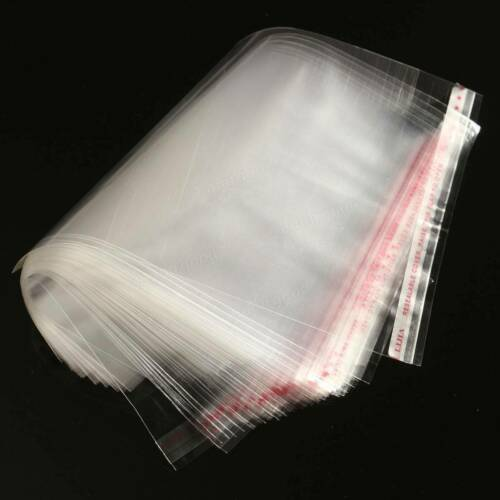 Clear Cellophane Bags  A4 23x34cm Self Adhesive Resealable Plastic  Bag