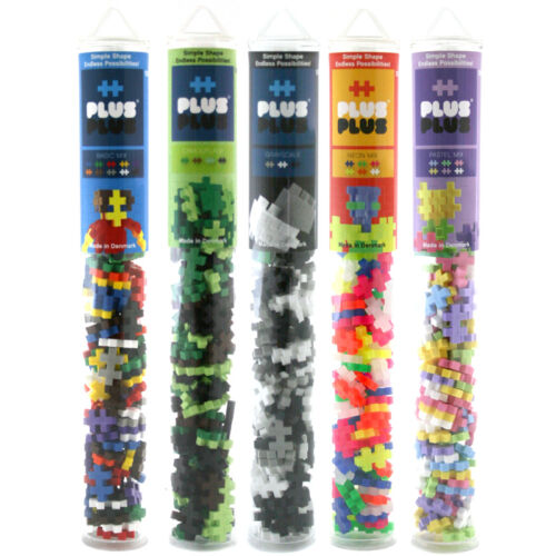 Choice of Sets NEW Plus-Plus Builder Tube One Supplied 100 Piece