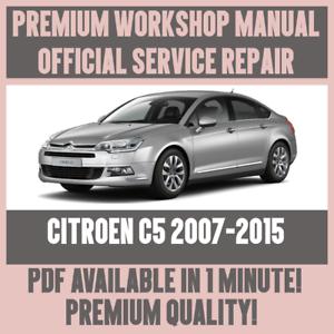 workshop manual service repair guide for citroen c5 2007 2015 ebay rh ebay com Citroen C5 2002 Cabin Citroen C5 2002 Specification