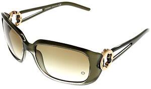 Mont-Blanc-Sunglasses-Women-MB172-348-Olive-Green-Rectangular