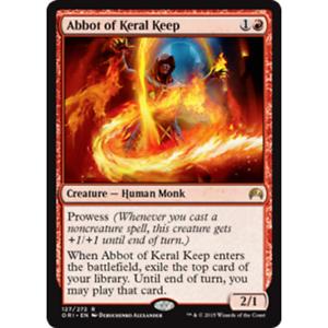 Excellent MTG MAGIC ORIGINS Condition Abbot of Keral Keep