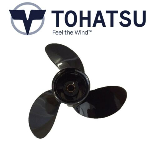 """9.8hp 8.9/"""" x 8.5/"""" Pitch 8 Tohatsu Genuine Outboard Propeller 6"""