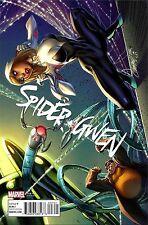 Spider-gwen 7 V2 2015 J Scott Campbell Connecting Cover B Variant Spiderman