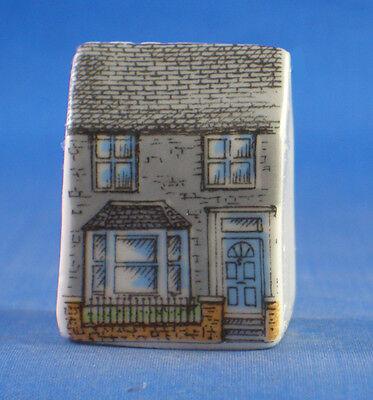 Birchcroft Thimbles Terraces Miniature House Shape Set of Three