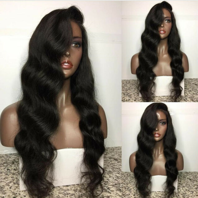 Lace Front wigs Glueless Full Lace Wigs 100% Human Hair Baby Hair Bleached Knots
