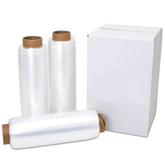 4 Rolls by ValueMailers 20 x 1000 x 80 Gauge Stretch Wrap Pallet Moving Packing Shipping