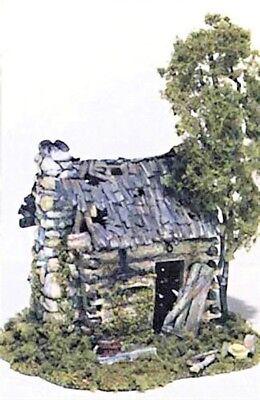 Woodland Scenics M101 HO Abandoned Log Cabin Structure Kit