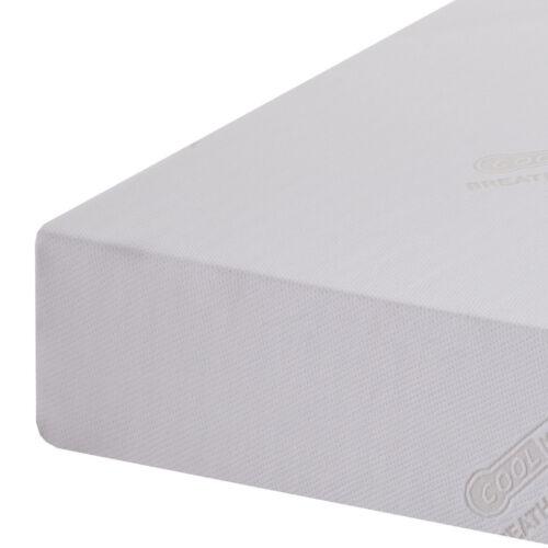 Reflex Memory Foam Mattress 3ft Single 4ft6 Double 5ft King Roll Up Mattress