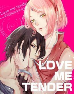 Naruto-DOUJINSHI-SASUKE-x-Sakura-B5-34-pagine-Marsh-LOVE-ME-TENDER-SUZU