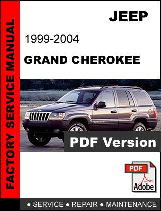 jeep grand cherokee 1999 2000 2001 2002 2003 2004 repair service rh ebay com 2000 jeep grand cherokee laredo service manual 2000 jeep grand cherokee owners manual free download