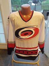 NWT Vintage NHL Starter Authentic CAROLINA HURRICANES Hockey Jersey Large WHITE