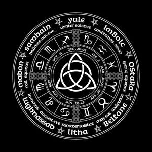 Witch-Calendar-Tarot-Cloth-Decor-Divination-Cards-Wicca-Velveteen