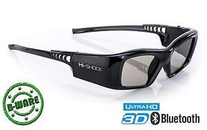 Attivo-Shutter-3d-Occhiali-BLACK-Diamond-per-Sony-Sharp-TV-Samsung-BJ-2013-2019