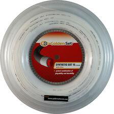 GSI Synthetic Gut 16 white tennis string - 660' Reel