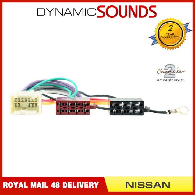 CT20NS04 Wiring Harness Adaptor Lead For Nissan Almera, Almera Tino PC2-109-4