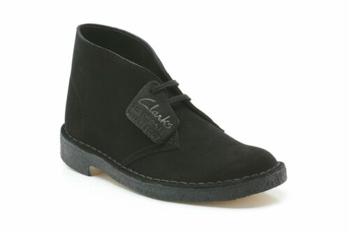 Up Suede Boot Lace Desert para Rebajas Black hombre Clarks Originals vwR81