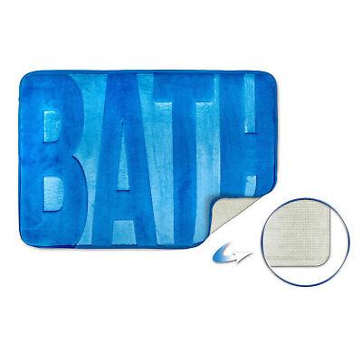 Spa Glitter 100% Cotton Shaggy Chenille Loop Bath Mat / Bath Rug