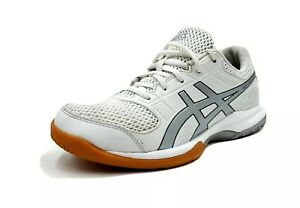 Asics-Gel-Rocket-Womens-Size-6-5-Running-Shoes-White-Sneakers-B756Y