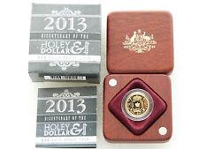 2013 Australia Holy Dollar Dump $10 Ten Dollar Gold Proof 1/10oz Coin Box Coa