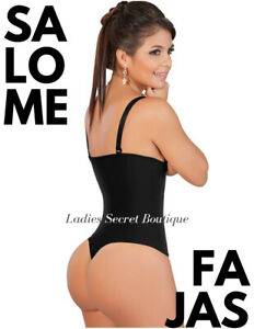 Fajas-Colombianas-Salome-0212-Body-Suit-Shaper-Thong-Reductoras-Moldeadoras-NEW
