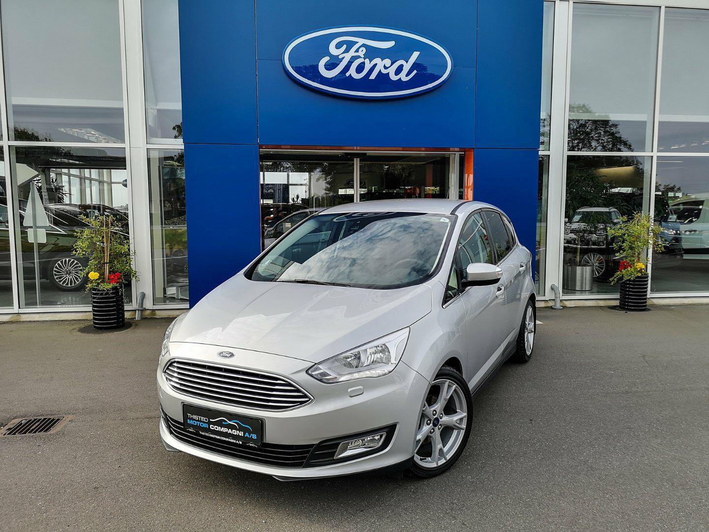 Ford C-MAX 1,0 SCTi 125 Titanium+ 5d - 219.000 kr.