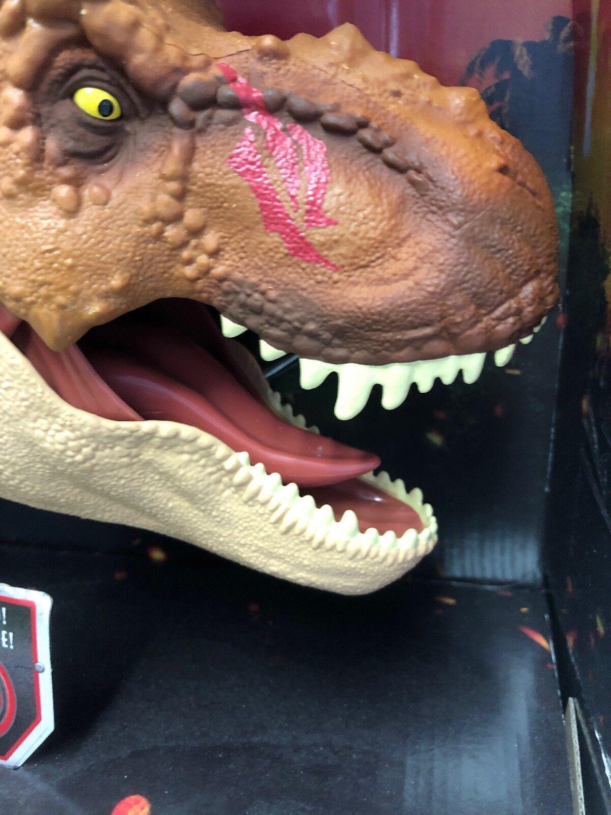 Tiranosaurio Dinosaurio Rex Jurassic World daño de batalla Roaring T-Rex enorme