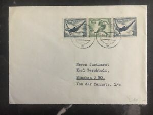 1936 Munich Germany cover Olympics Stamps Domestic Used