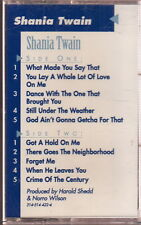 shania twain s/t cassette limited edition