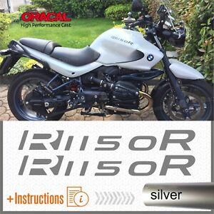 2x-R1150R-Silver-BMW-Serbatoio-ADESIVI-PEGATINA-R-1150-R-AUTOCOLLANT-AUFKLEBER
