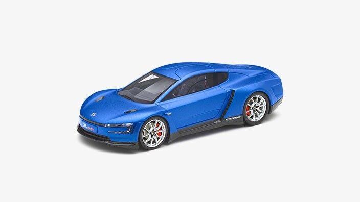 RARO VW XL SPORT MOTORI DUCATI RACING BLU Concept Car 1 43 Spark (modello concessionario)