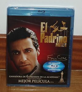 EL-PADRINO-II-THE-GODFATHER-BLU-RAY-NUEVO-PRECINTADO-THRILLER-ACCION-SIN-ABRIR
