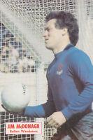 Football Photo JIM McDONAGH Bolton Wanderers 1970s