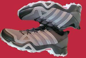 Adidas AX2R Terrex Men's Outdoor Hiking Athletic Shoes Grey Black Size 12 NWB