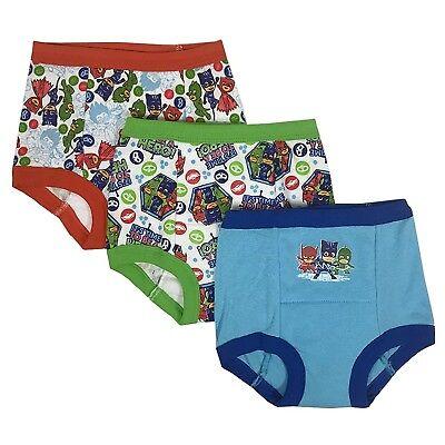 Assorted Thomas Nickelodeon Boys Toddler 3pk Potty Training Pant 4T