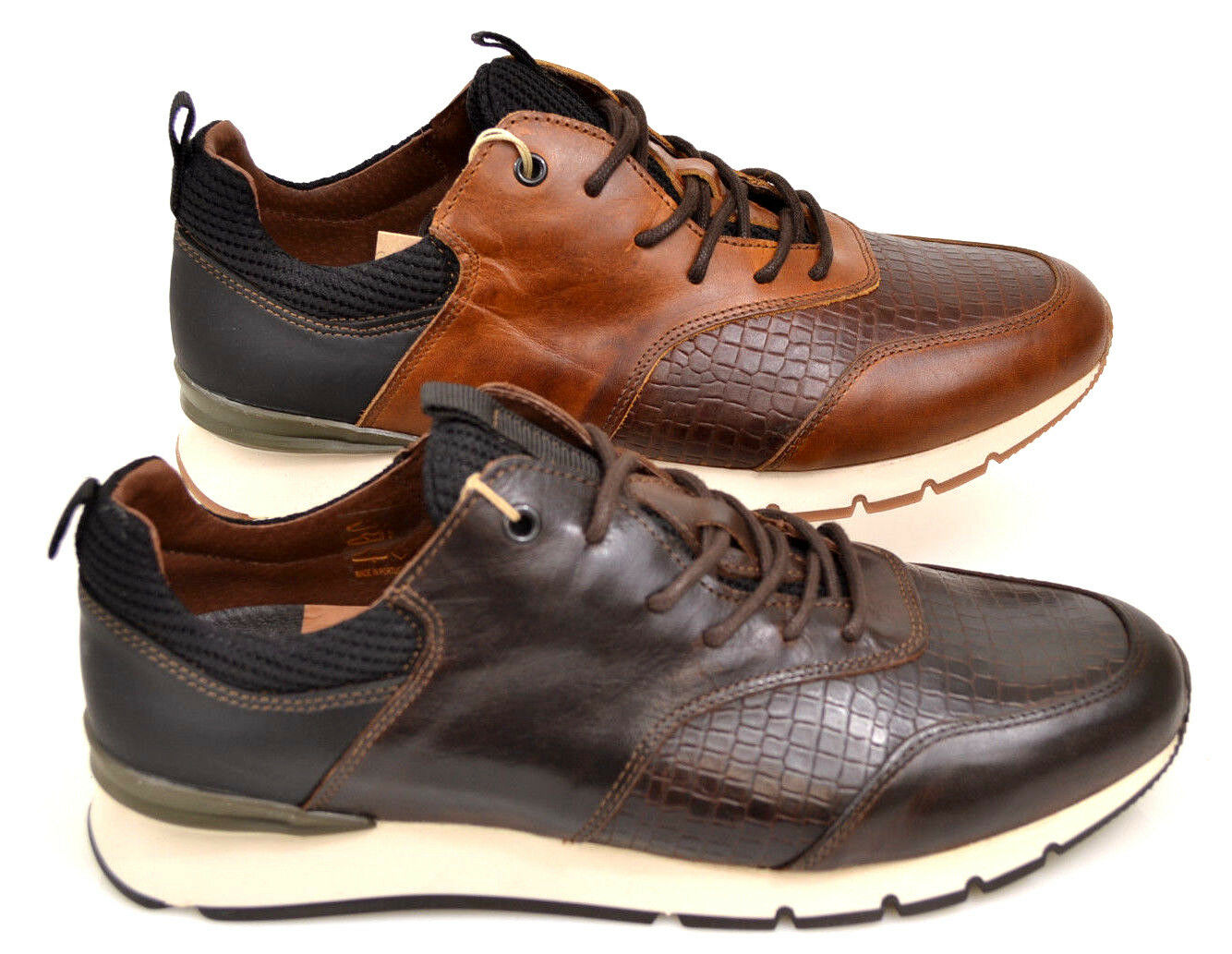 Designer Herren Schuhe edel Sneaker camel braun Neu Coxx Gr.41-46 NEU SALE