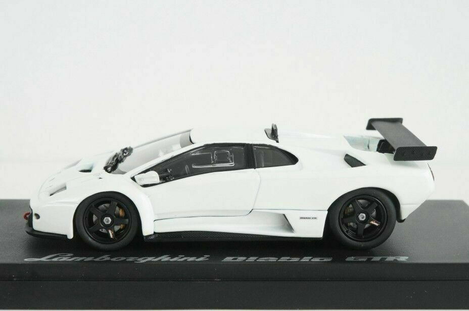 LAMBORGHINI DIABLO GT-R PEARL WHITE KYOSHO 3215W 1 43 white white WEISS