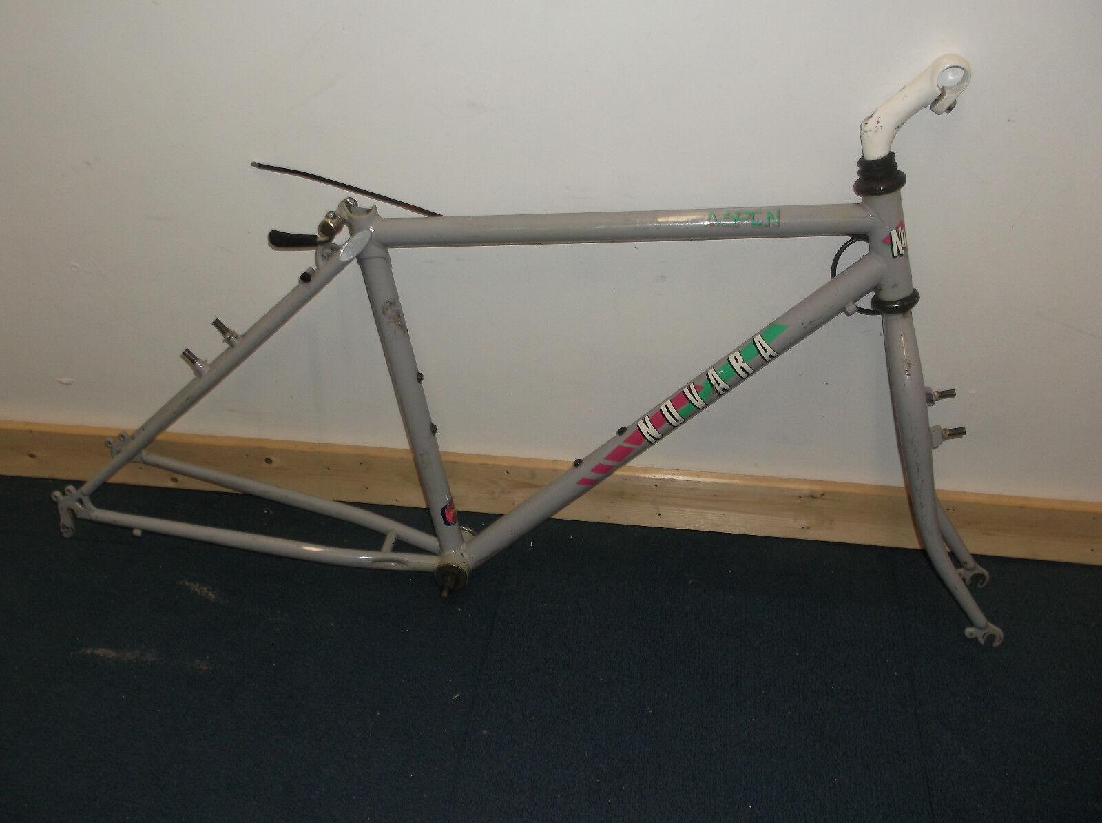 Vintage Novara Aspen 16 Tange cromoly MTB frame 90s